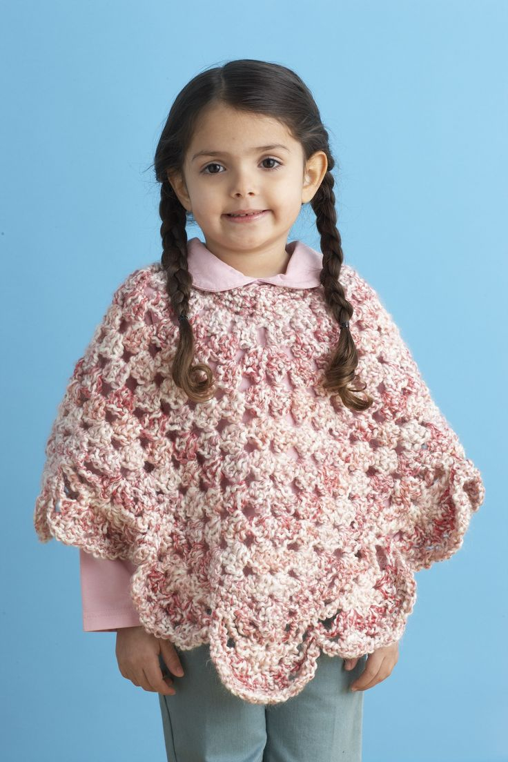List of Free Crochet Patterns for Toddlers Ponchos Knitting Patterns For Ba Lion Brand Endearing Girls Poncho Pattern