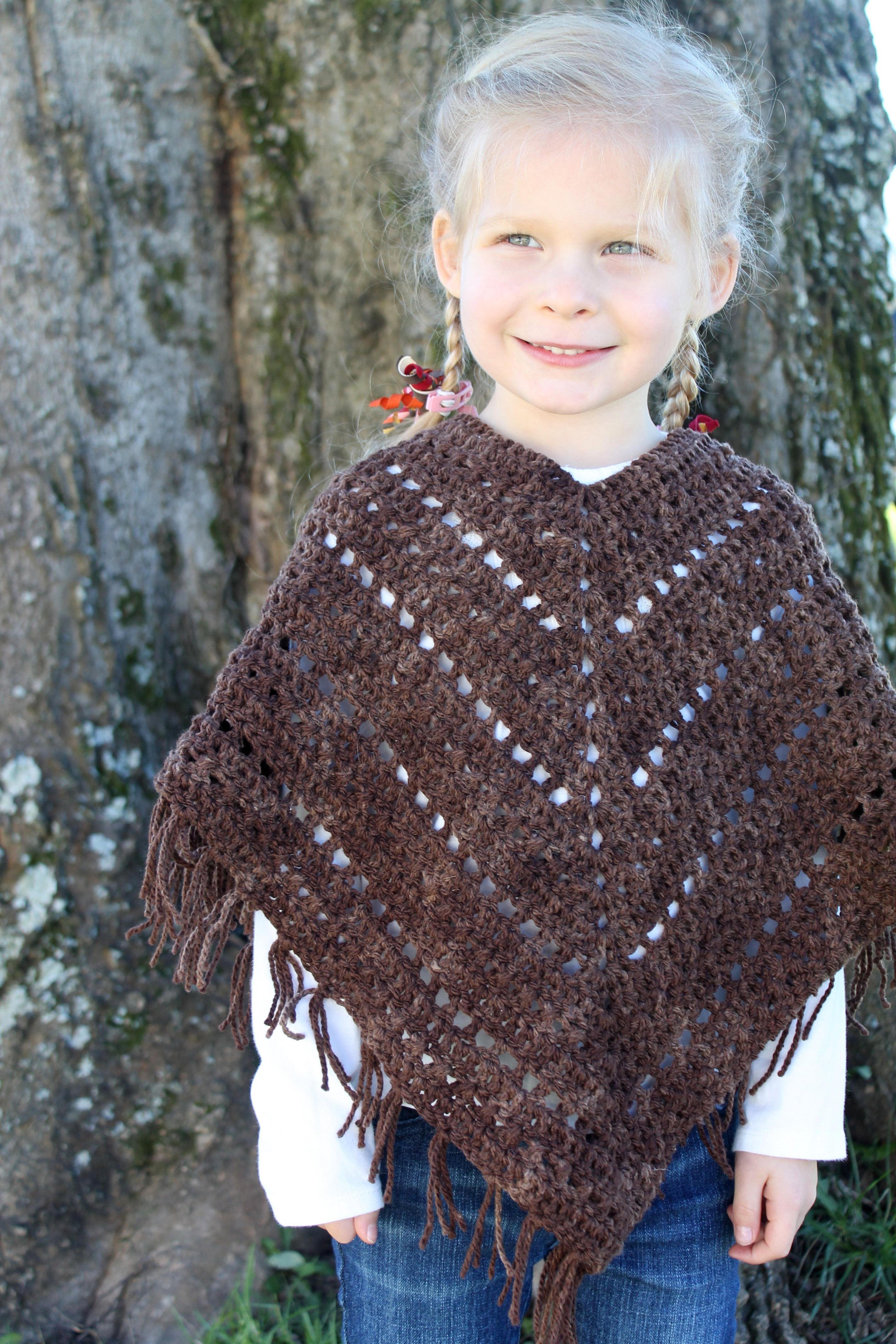 List of Free Crochet Patterns for Toddlers Ponchos Ponchosshawls Crochet Patterns Archives