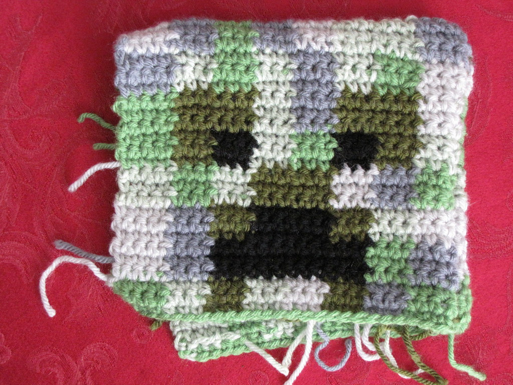 Making Cute Minecraft Creeper Crochet Pattern The Worlds Newest Photos Of Creeper And Crochet Flickr Hive Mind