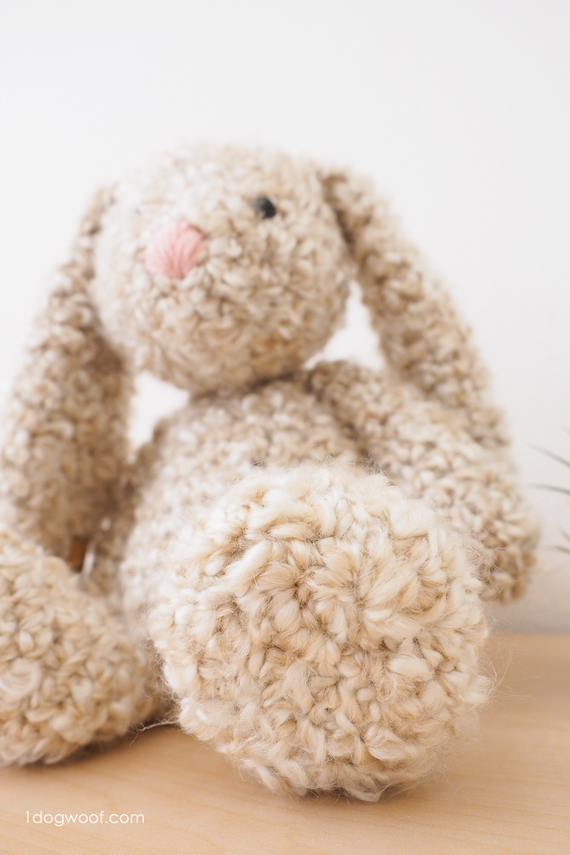 Quick Large Crochet Doll Patterns to Choose Classic Stuffed Bunny Crochet Pattern For Easter One Dog Woof