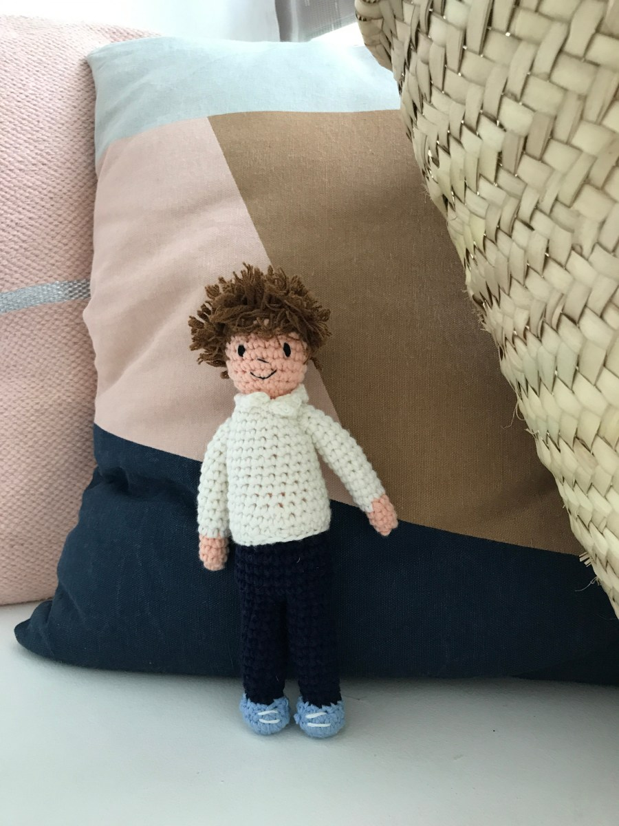Quick Large Crochet Doll Patterns to Choose Oliver Handmade Crochet Doll Large
