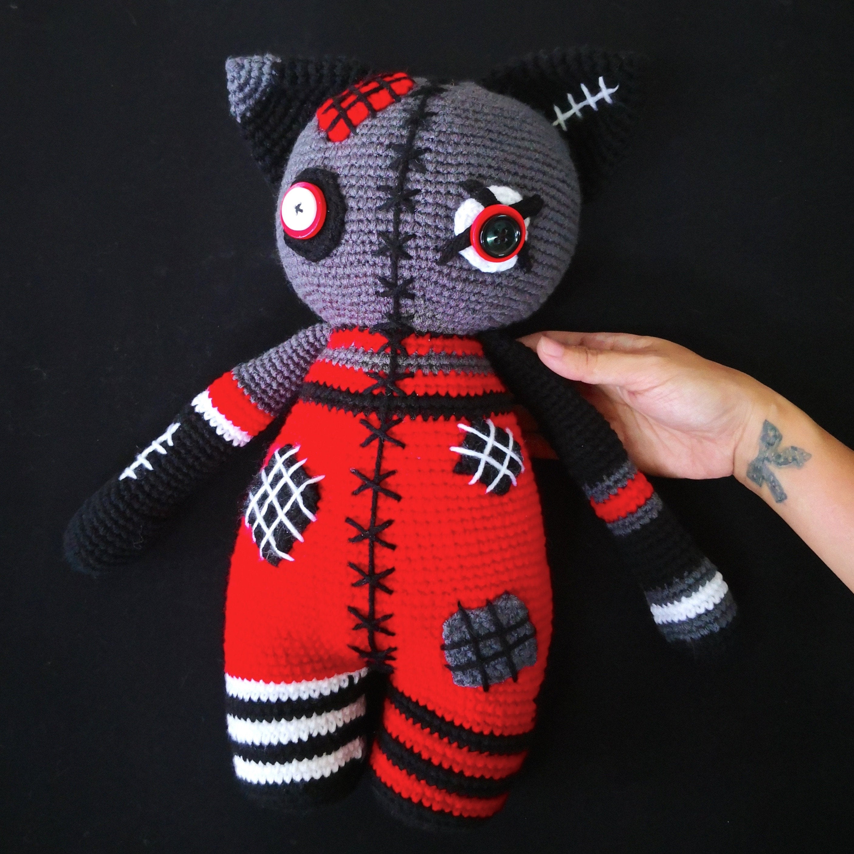 Quick Large Crochet Doll Patterns to Choose Sale 2 Patterns Large Crochet Doll Patterns Voodoo Doll Etsy