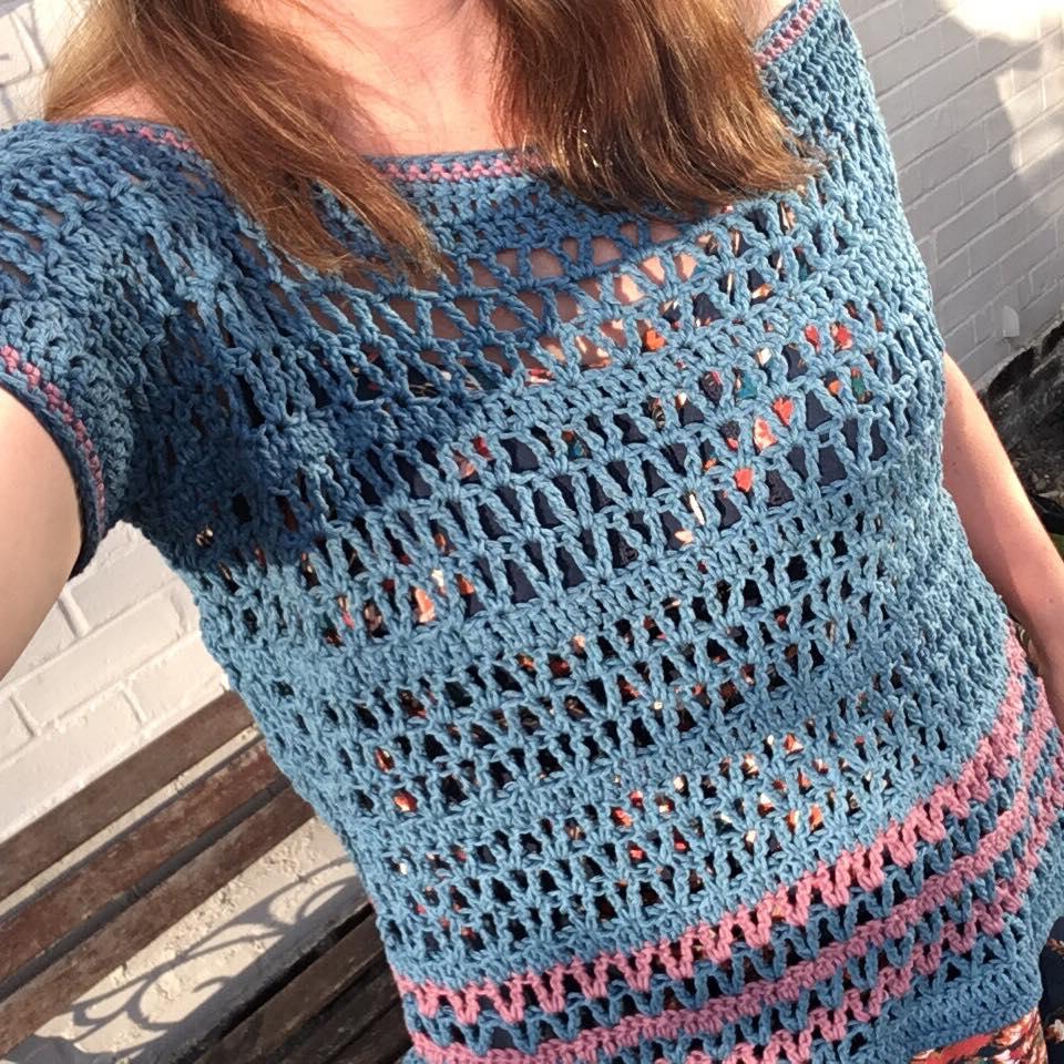 Stylish Poncho Crochet Patterns Summer Daze Poncho Crochet Pattern Re Made Sam