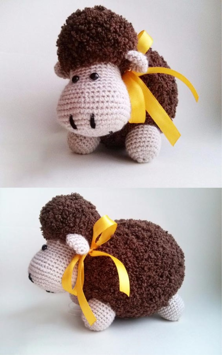 The Sweetest Crochet Lamb Patterns for Free Amigurumi Lamb Free Pattern