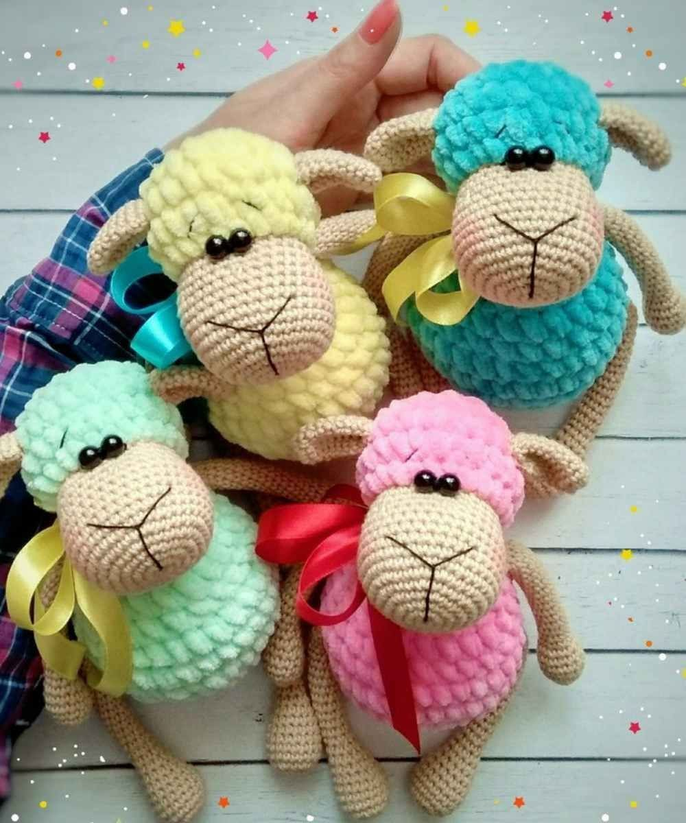 The Sweetest Crochet Lamb Patterns for Free Crochet Lamb Pattern Lovely Sheep Toys Plush Amigurumi Free Crochet