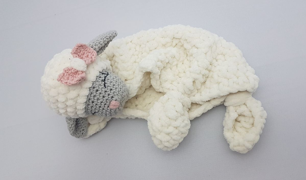 The Sweetest Crochet Lamb Patterns for Free Little Mary Lamb Lovey Free Crochet Pattern Your Crochet