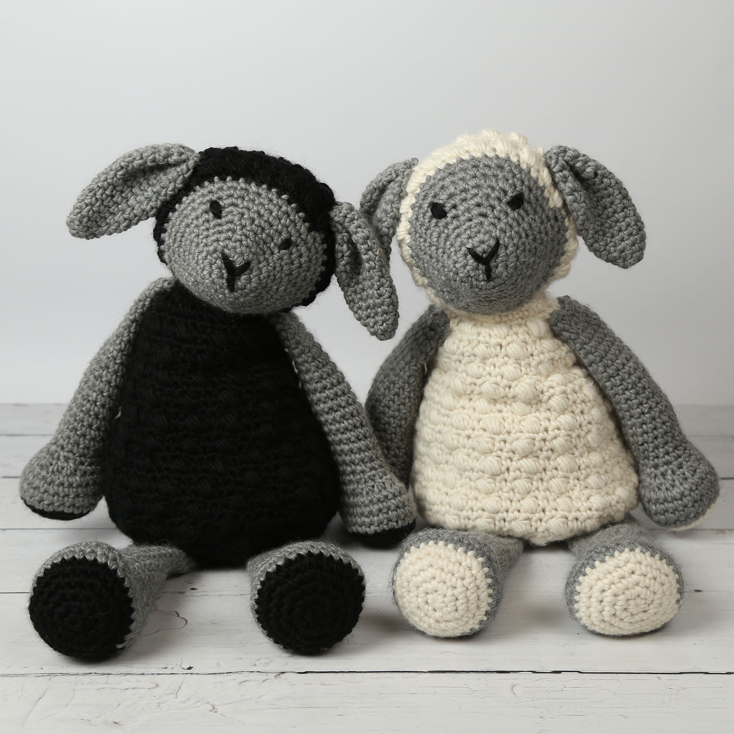 The Sweetest Crochet Lamb Patterns for Free Mabel Bunny Book Lionel Lamb Crochet Kit Wool Couture