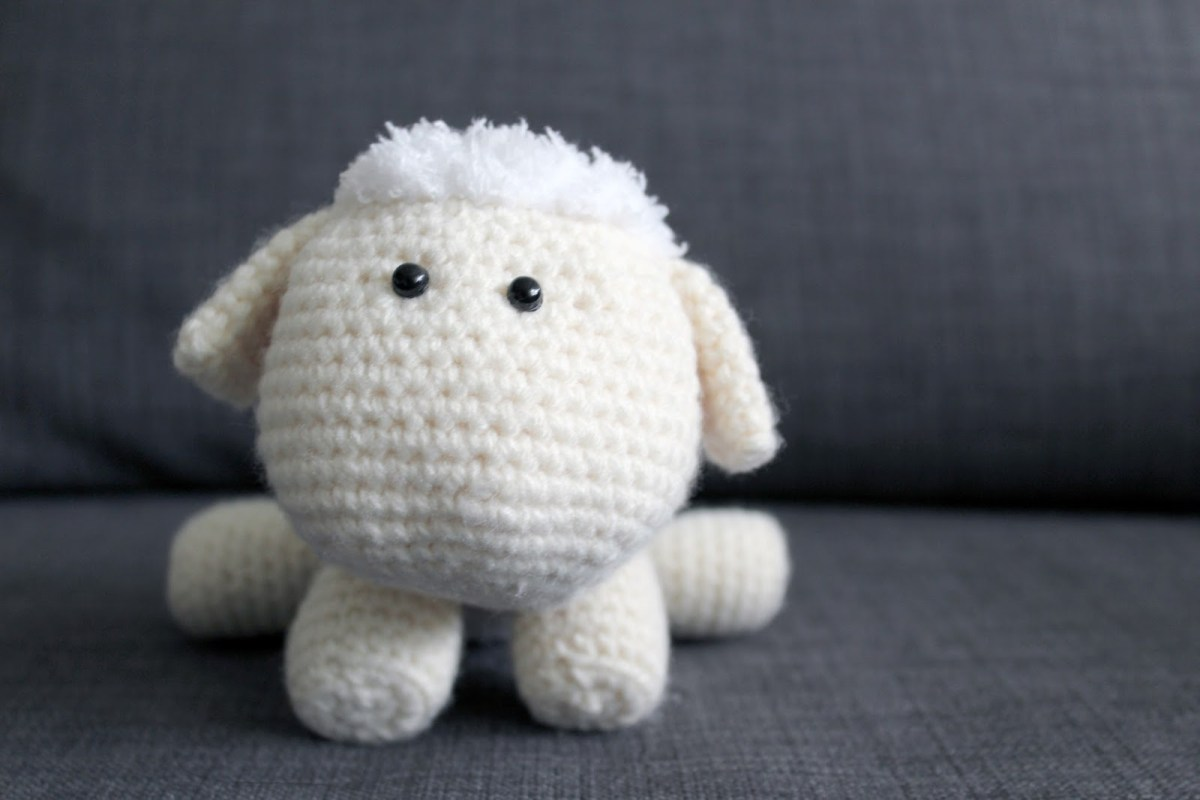 The Sweetest Crochet Lamb Patterns for Free Rosemary The Lamb Crochet Pattern Once Upon A Cheerio
