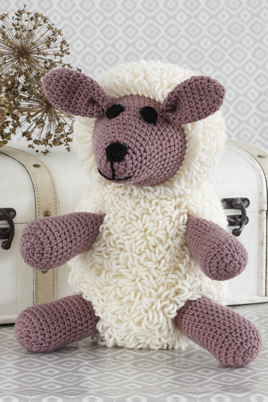 The Sweetest Crochet Lamb Patterns for Free Sheep Toy Crochet Pattern