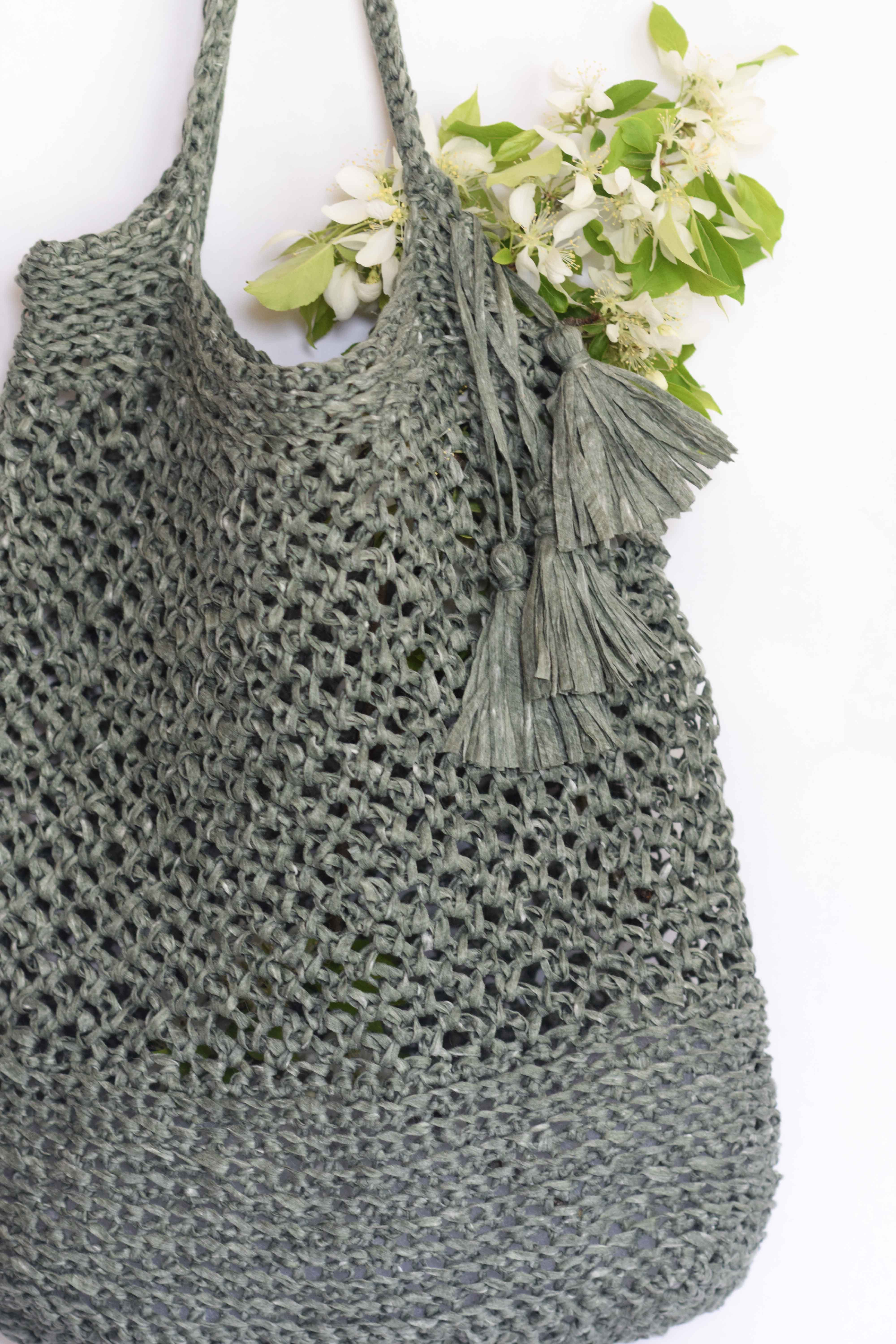 Tote Bag Patterns and Ideas that You Will Adore Easy Crochet Knit Bag Patterns Mama In A Stitch