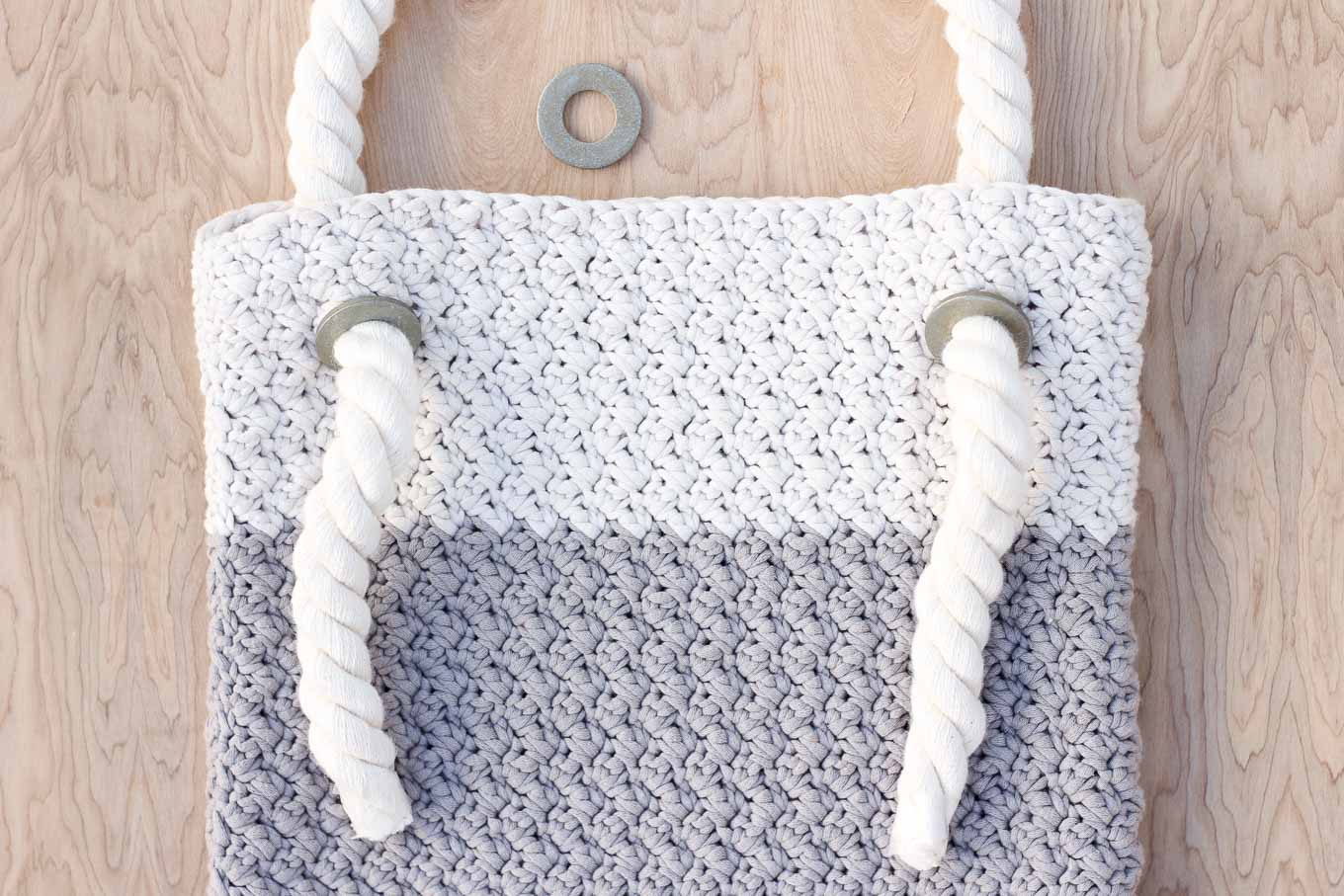 Tote Bag Patterns and Ideas that You Will Adore Free Crochet Bag Pattern Beginners 14 Make Do Crew