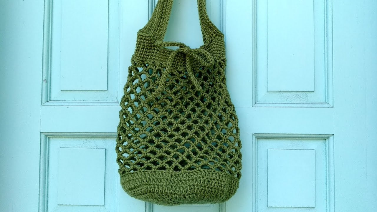 Tote Bag Patterns and Ideas that You Will Adore How To Crochet A Market Bag Youtube