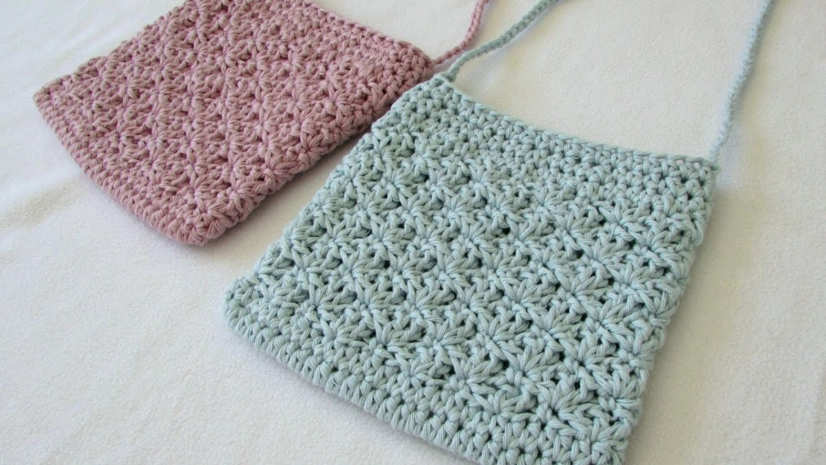 Tote Bag Patterns and Ideas that You Will Adore How To Crochet A Pretty Shell Stitch Purse Bag Youtube