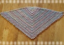 Triangular Prayer Shawl Crochet Pattern to Lift Up Your Spirit Aprils Archives Trinity Prayer Shawl Free Pattern