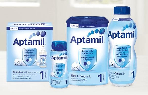Những lý do khiến mẹ nên chọn sữa bột Aptamil