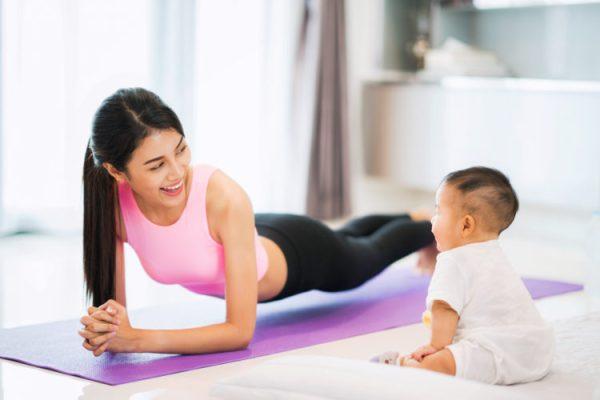 Phương pháp lấy lại vóc dáng cho mẹ sau sinh cực chuẩn