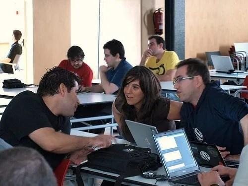 Rafael Poveda, Rocío Valdivia y Luis Rull