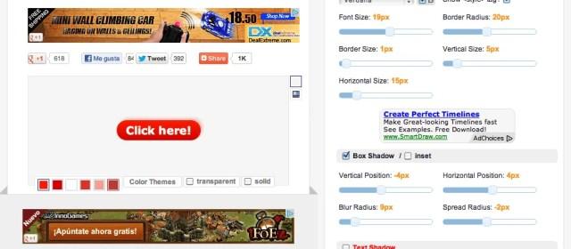 Crear botones CSS en el navegador
