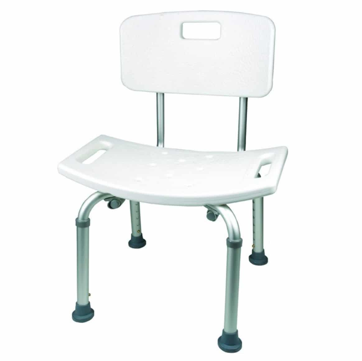 Shower Chair With Back Shower Chair W Back Med Supply
