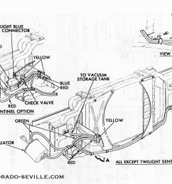 vacuum hose diagram for the headlight doors on a 1969 buick riviera 1969 chevy hideaway vacuum diagram [ 1200 x 812 Pixel ]