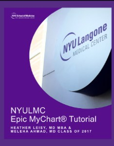 Epic mychart tutorial also institute for innovations in medical education digital press nyu rh med