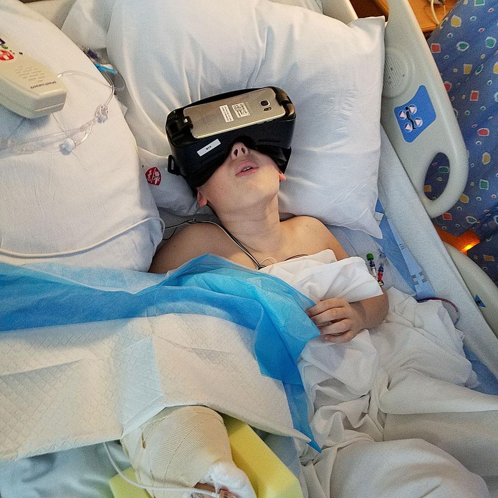 Virtual Reality Alleviates Pain Anxiety For Pediatric