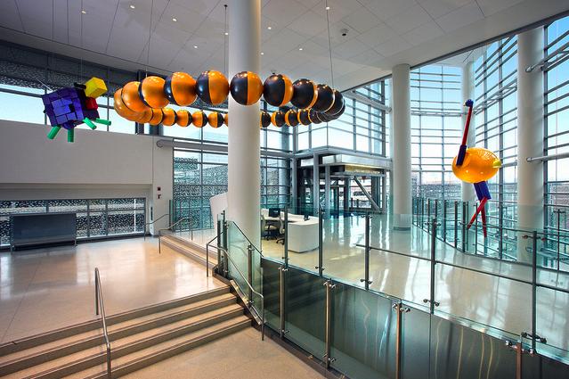 The new Johns Hopkins Hospital building  Medaesthetics