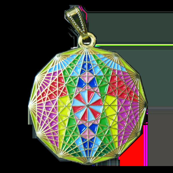 Médaille de la Fleur de Vie Cosmique