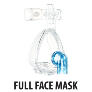 BiTrac NIV Full Face Mask Standard Elbow