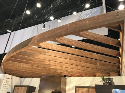 Thermador booth_trellis ceiling2