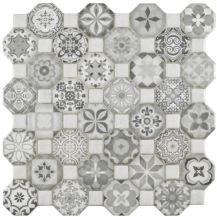 Wayfair Edredon Ceramic Tile Gray (detail)