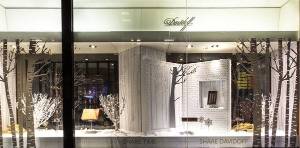 Davidoff Storefront Design - Medallion Retail