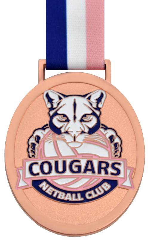 Medals Australia - Custom Designed Medals - Cougars Netball Club