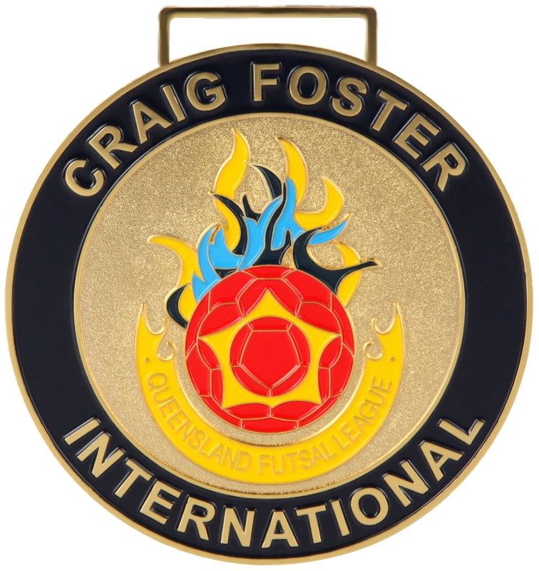 Medals Australia - Custom Designed Medals - Craig Foster International 2017