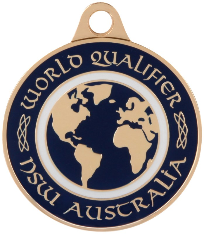 Medals Australia - Custom Designed Medals - Irish Dancing World Qualifier