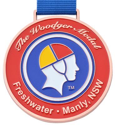 Medals Australia - Custom Designed Medals - SLSC Woodger