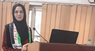 الدكتورة فداء صافي المحاضرة فى جامعة الأزهر