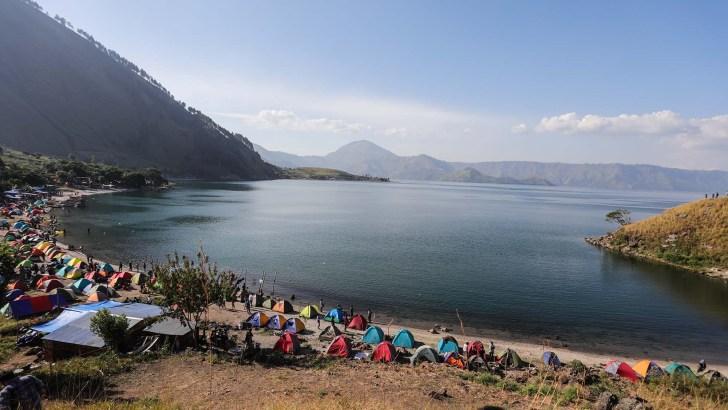 Camping Seribu Tenda, Sentuhan Baru Untuk DANAU TOBA