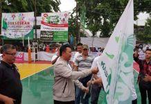 Tujuan sosialiasi Asian Para Games untuk memberikan informasi lebih kepada masyarakat jika Indonesia bertindak sebagai tuanrumah pesta olahraga atlet penyandang disabilitas.