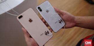 Apple Diprediksi Luncurkan iPhone Murah Tahun Ini Ilustrasi iPhone(CNN Indonesia/Hesti Rika)