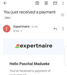 WhatsApp Marketing Payment Proof