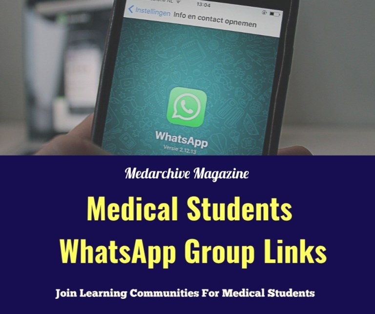 Whatsapp groups for medical students