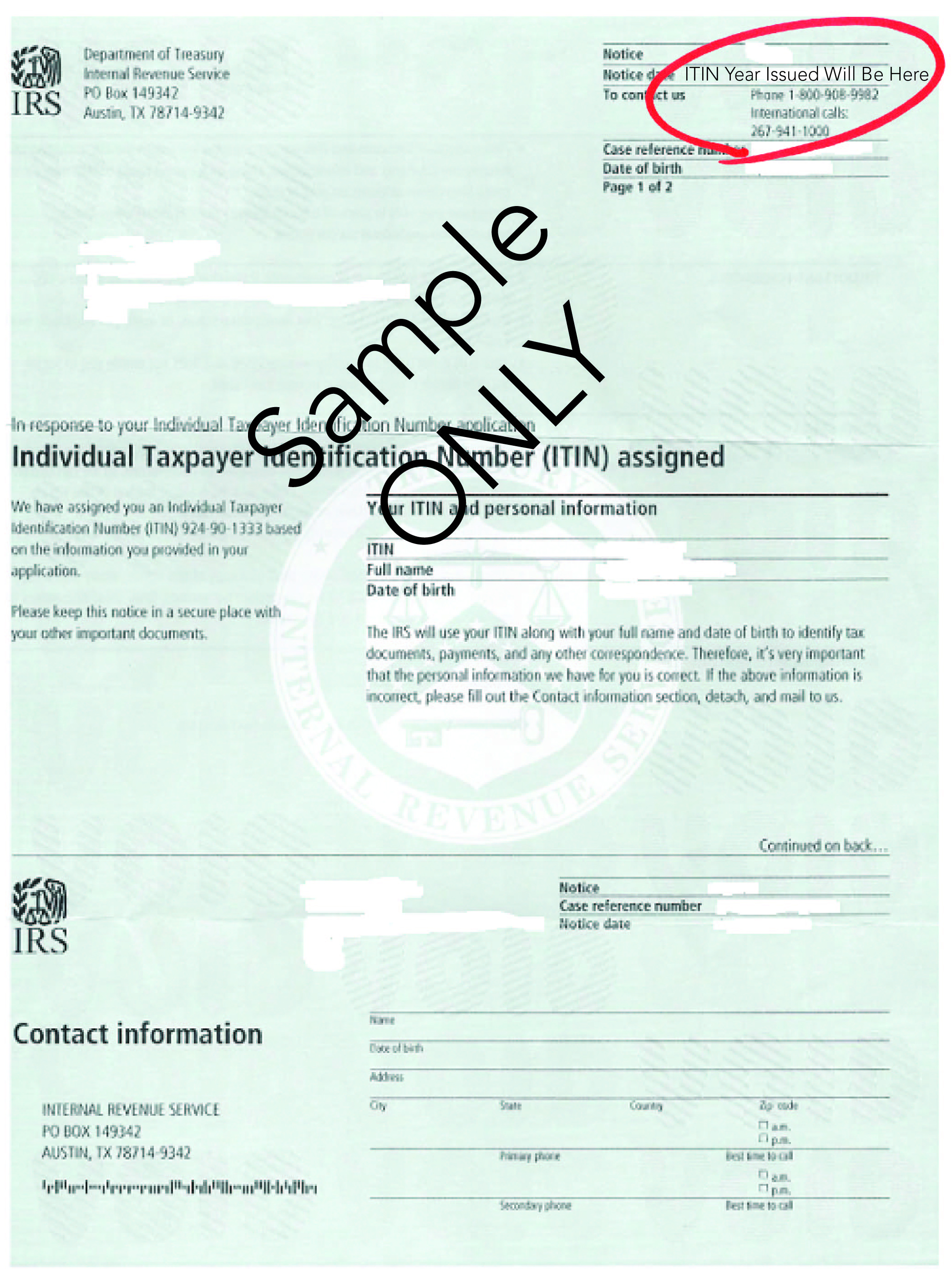 Is Your ITIN Expiring, Per New IRS Rules?