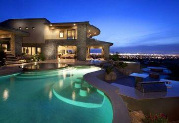 piscinas de luxo me dá uma luz