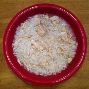 Chicken & Rice- The Breakfast of this Champion