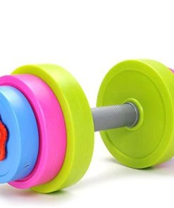 Toy Dumbbell with interchangeable weights