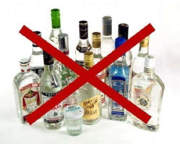Kieltää alkoholia