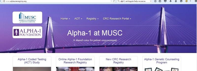 alpha 1 registry