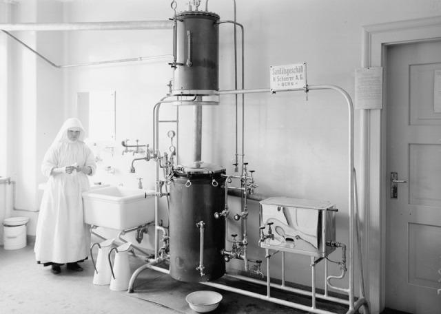 sterilization methods, image in public domain