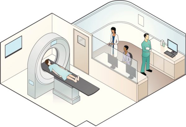 MRI Scanner Illustration